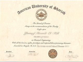 Where can I get a fake American University of Sharjah degree online
