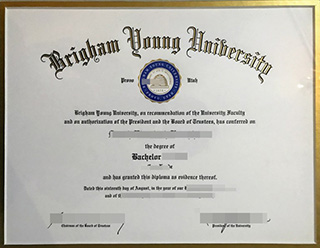 How much to buy a fake Brigham Young University diploma online