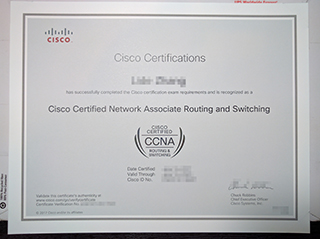 The fastest way to buy a fake CCNA certificate online