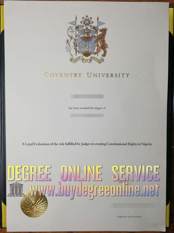 Coventry University degree