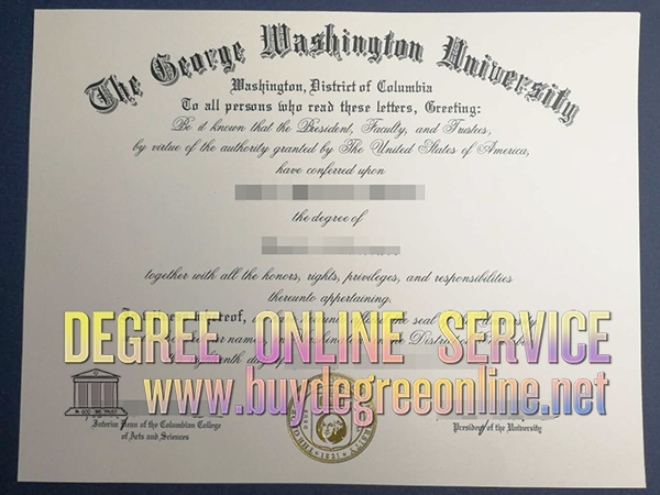 George Washington University degree