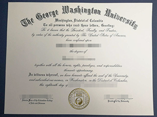 How to buy a fake reliable George Washington University degree online