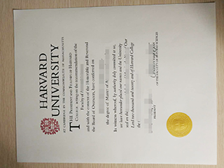 The best way to quickly get a fake Harvard University Master diploma