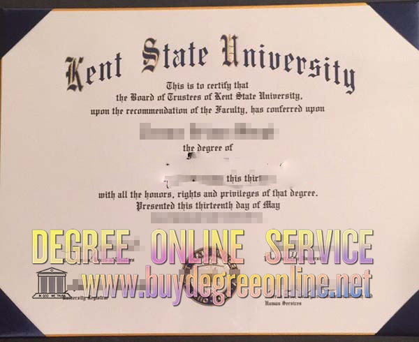 Kent State University degree
