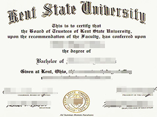 How to get a fake Kent State University degree, buy KSU degree in the US