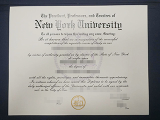 The reliable site to buy a fake New York University degree