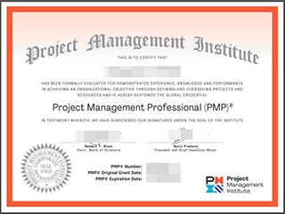 Fake PMP certificate in 2020, buy Project Management Professional certificate