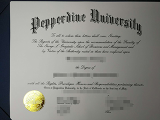 The reliable website to get a fake Pepperdine University diploma, buy fake PPD degree online