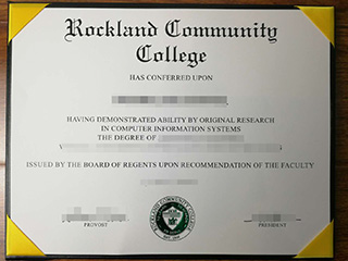 How long to get a fake Rockland Community College degree online