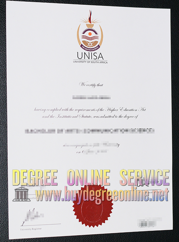 University of South Africa degree