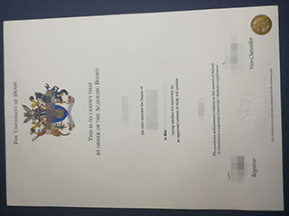 The best method to get a fake University of Derby diploma online