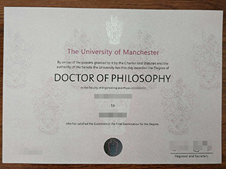 How to buy a fake University of Manchester PHD degree online