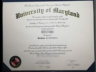 Fake University of Maryland degree, buy fake UMD diploma online