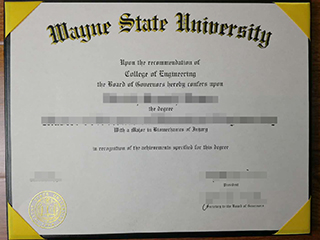 Where can I fastly get a fake Wayne State University degree online