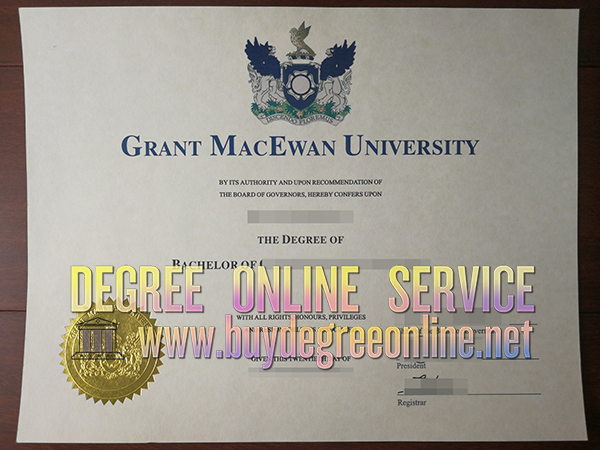 Grant MacEwan University degree