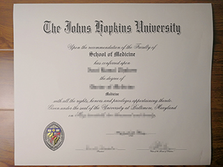 How can I get a fake Johns Hopkins University degree online