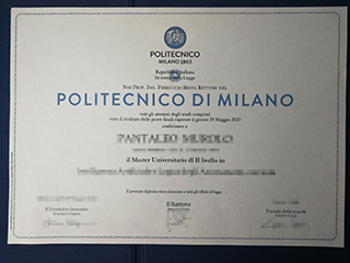 How should I quickly purchase a fake degree of Politecnico di Milano?