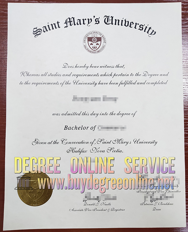 fake Saint Mary's University degree