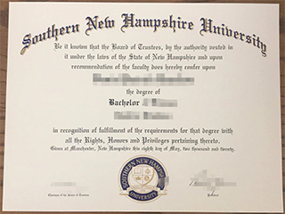 The best website to get a fake Southern New Hampshire university degree