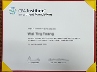 Fake Chartered Financial Analyst certificate, buy a fake CFA certificate