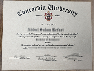 How long to buy a fake Concordia University degree from Canada