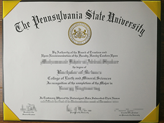The reliable way to get a fake Pennsylvania State University degree online