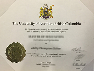 Where  to buy a fake University of Northern British Columbia degree