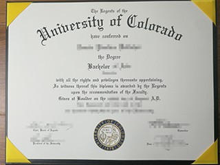 Why not buy a fake University of Colorado diploma, make degree