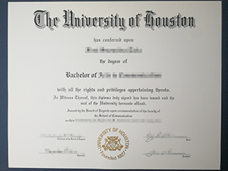 I want to buy a fake University of Houston diploma from America