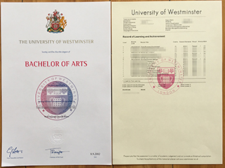 How to get the fake University of Westminster degree and transcript