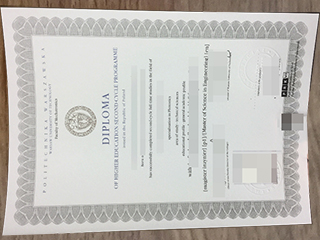Fake Warsaw University of Technology degree from Portland for sale