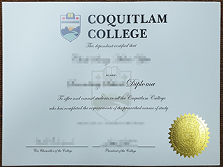 Fake Coquitlam College diploma, buy a fake Coquitlam College degree