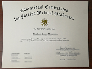 Where to buy a fake ECFMG certificate in the America