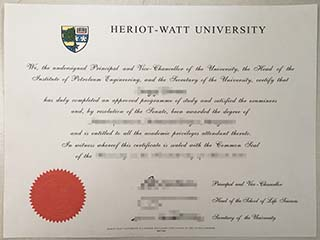 Do you want to buy the fake Heriot-Watt University degree and transcript?