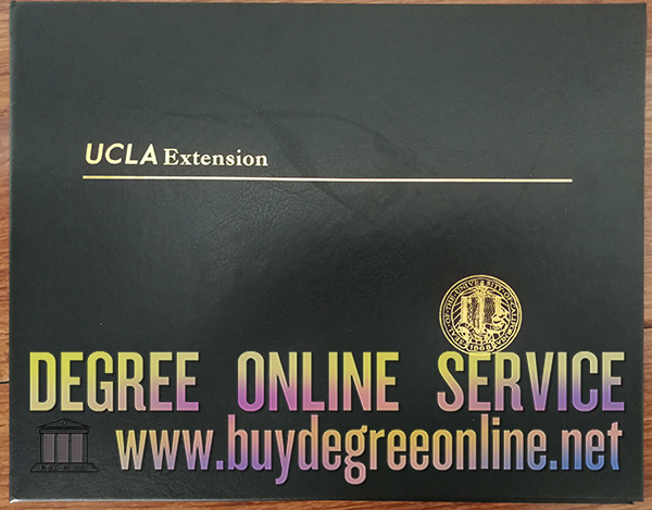UCLA Extension leather cover