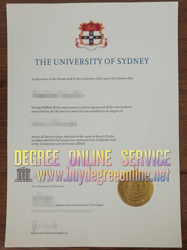 University of Sydney degree