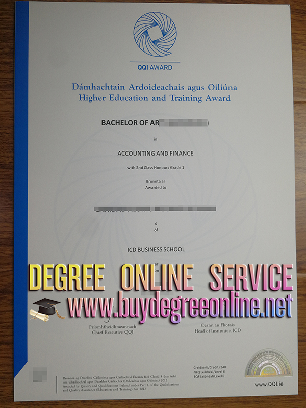 degree from ICD Business School