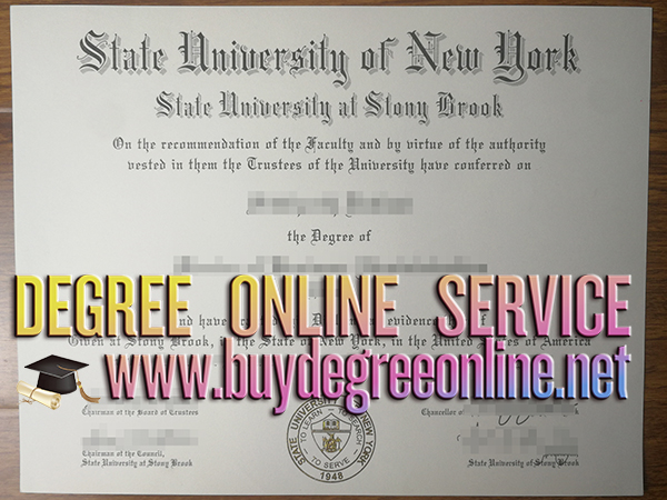 Stony Brook University, New York degree