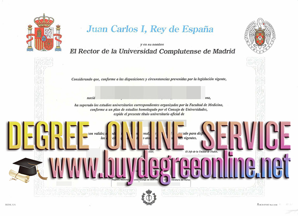 Universidad Complutense de Madrid degree