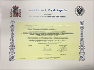 How to order a fake Universidad de Granada degree from Spain