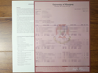Purchase a replacement University of Winnipeg transcript from Canada