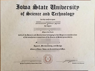 Why a fake Iowa State University diploma can benefit your work