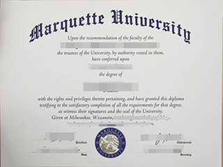 How much to get a fake Marquette University diploma online