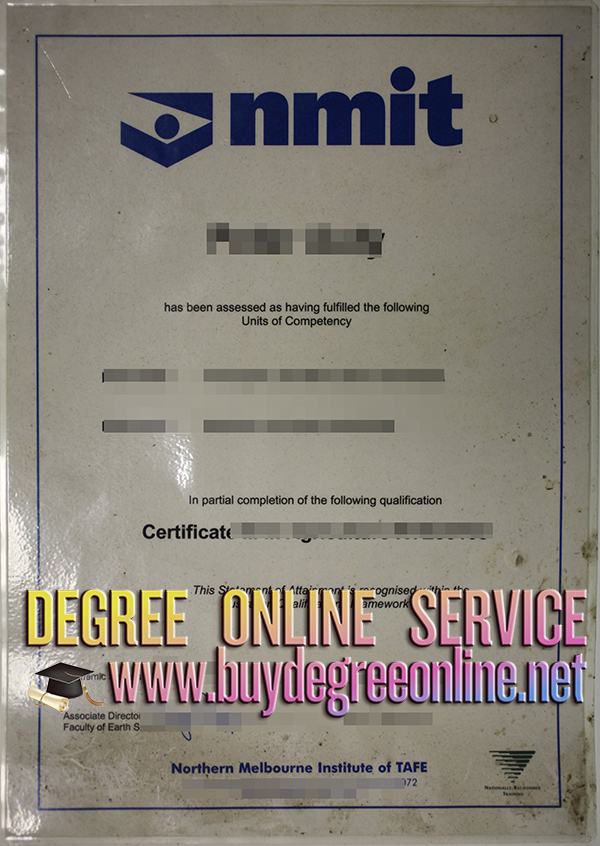 NMIT certificate