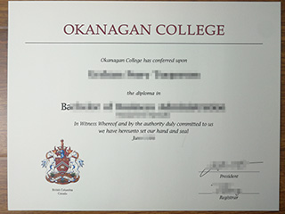 The safest website to order a fake Okanagan college degree in Canada