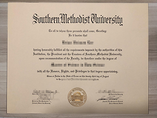 How do I get a fake Southern Methodist University diploma certificate?
