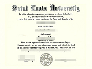 How long to buy a fake Saint Louis University diploma online