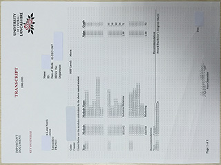 Order a fake University of Central Lancashire transcript from UK online