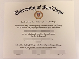 How can I get a fake University of San Diego diploma online?