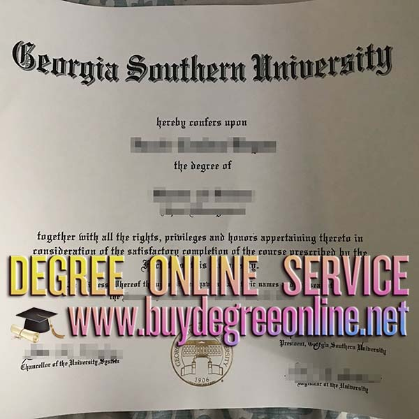 Georgia Southern University degree